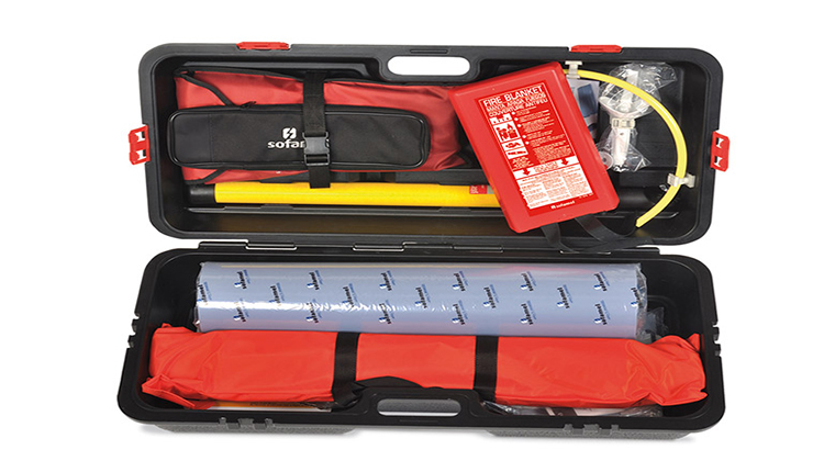 KPN Safety / Kit de maniobra y rescate eléctrico portátil
