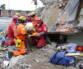 Búsqueda y rescate en estructuras colapsadas. (BREC)